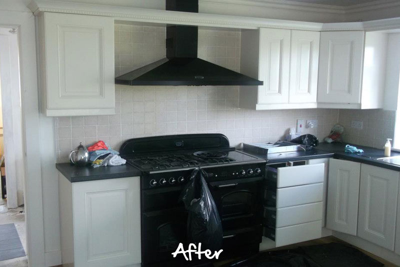 Farrow And Ball Kitchen Cabinet Paint Part - 44: ... Farrow-and-ball-painted-kitchen-after ...
