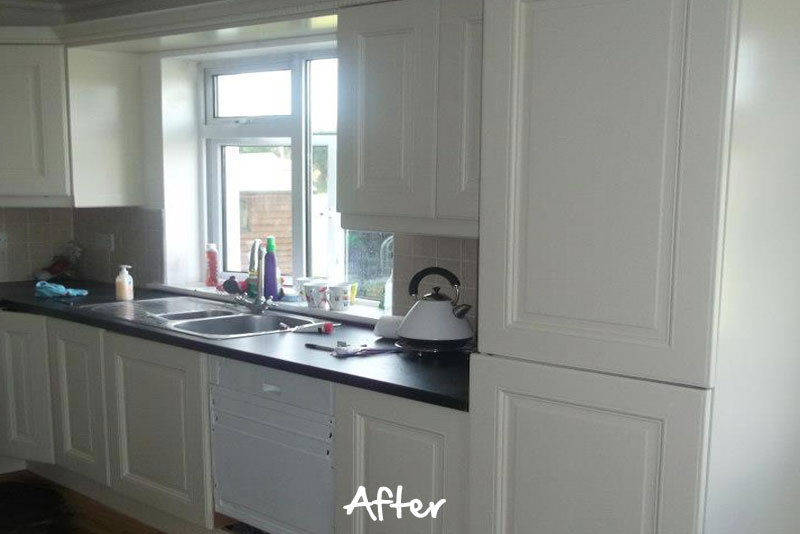 Awesome Farrow And Ball Kitchen Cabinet Paint Part - 13: ... Farrow-and-ball-painted-kitchen-after2jpg